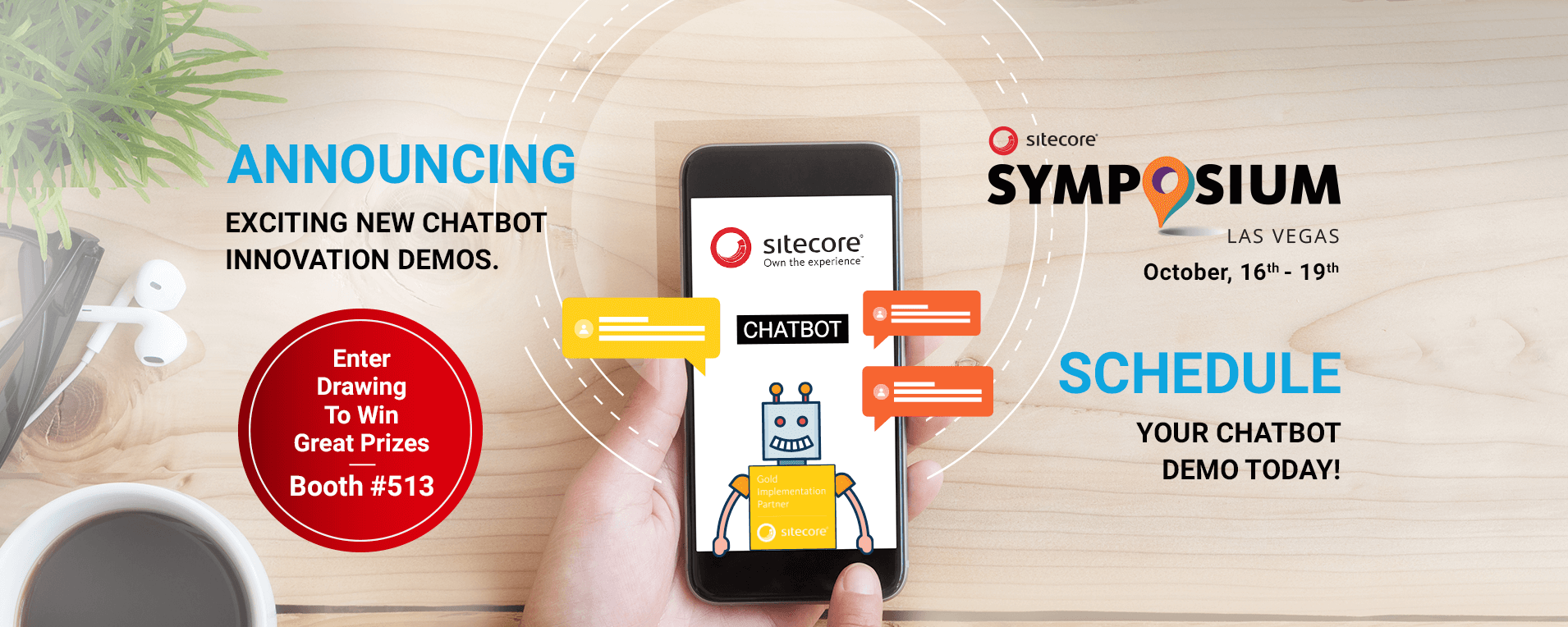 TA Digital @Sitecore Symposium 2017 – Experience Our Chatbot Innovation Demos and more…