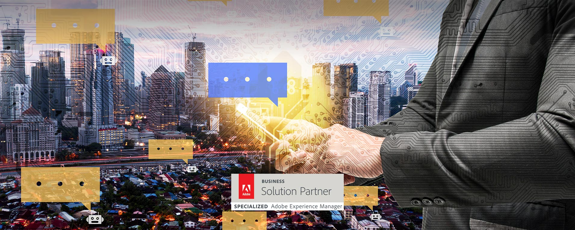Don't miss our chatbot demos at Adobe Summit 2018