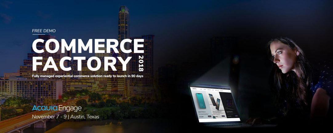 Commerce Factory launch News Banner