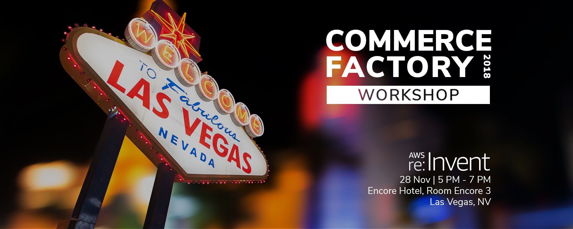 Unlock the Path to Experiential Commerce at AWS re:Invent 2018