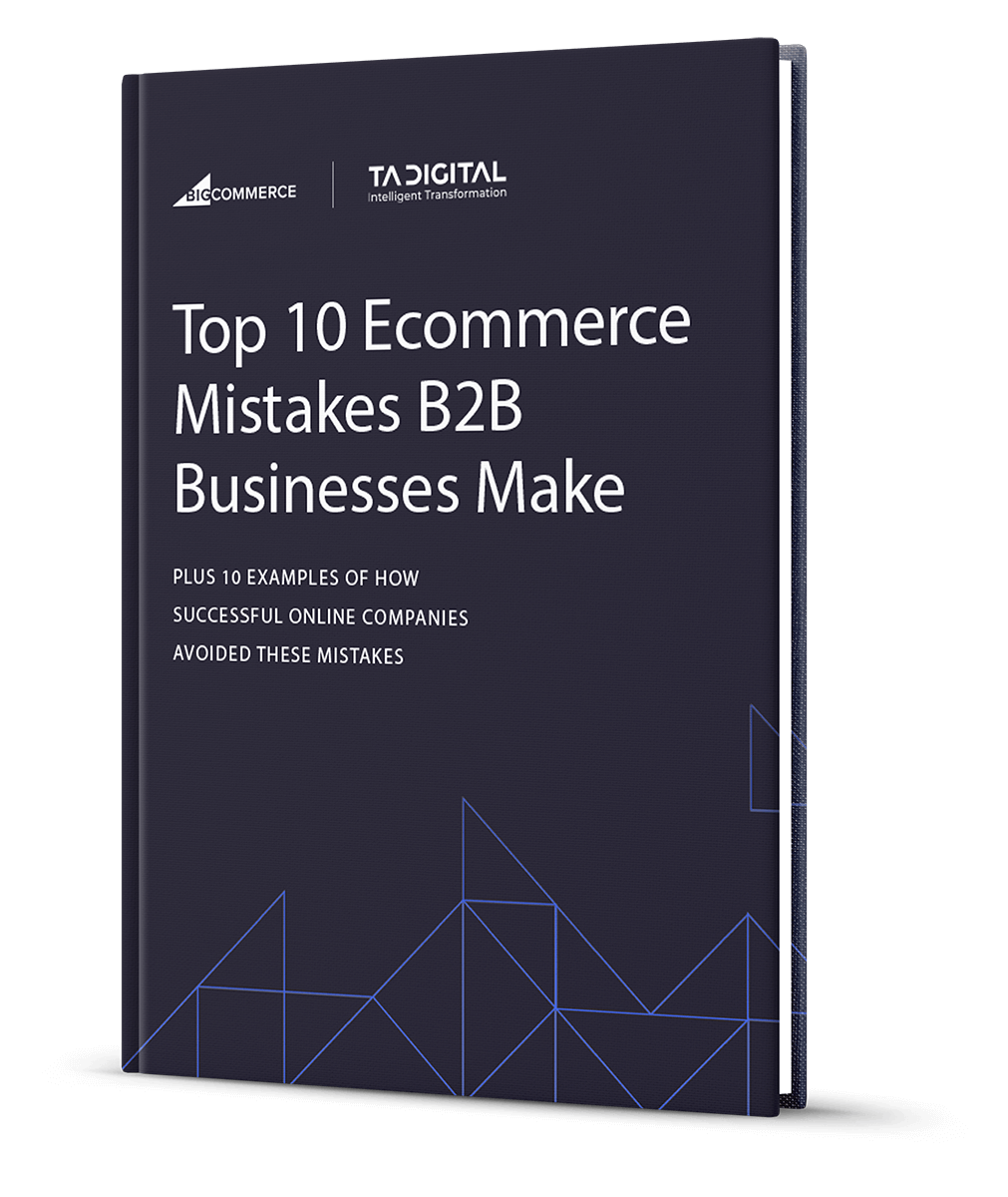 Top 10 Ecommerce Mistakes B2B Businesses Make ebook