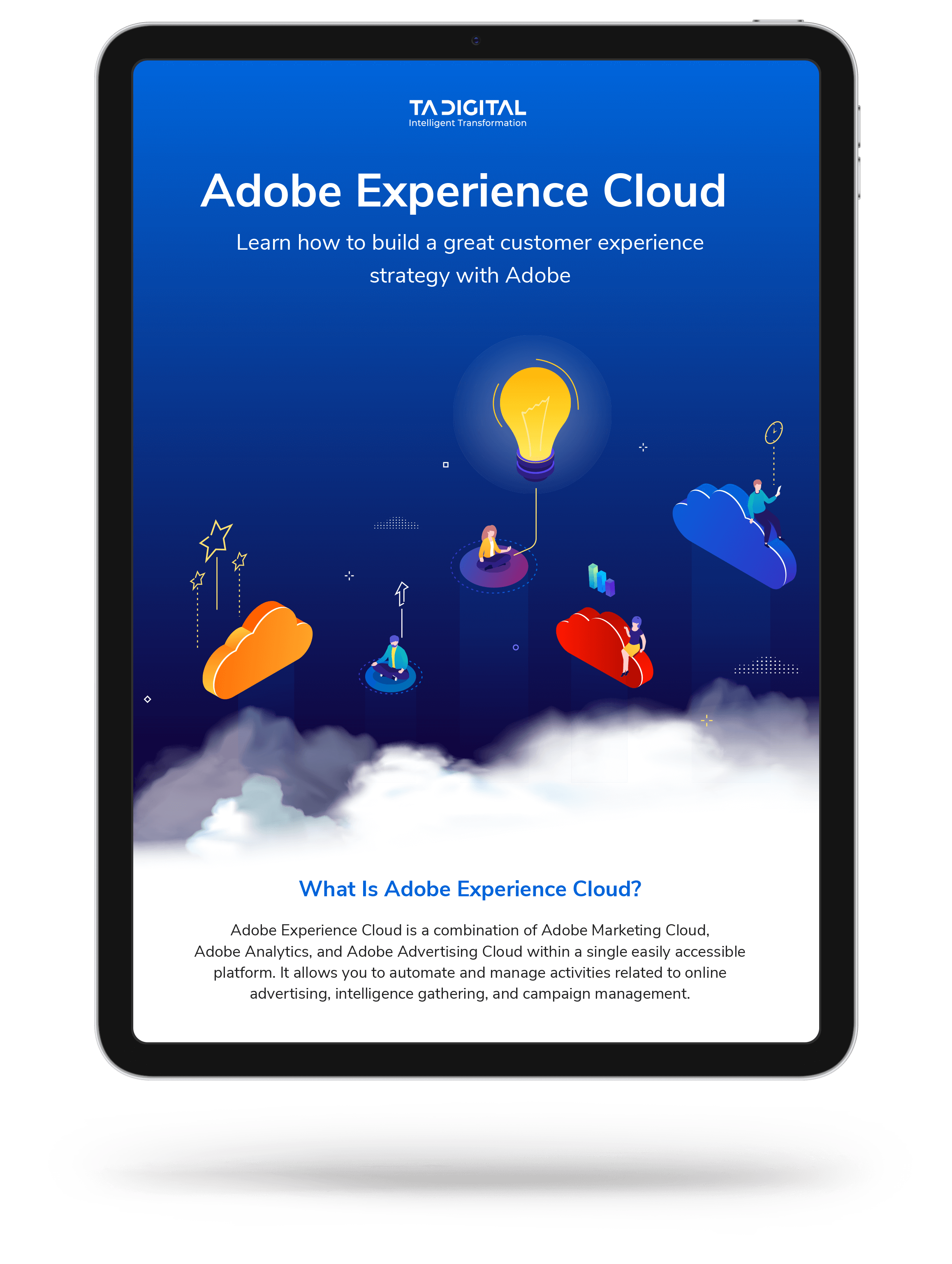 Adobe experience cloud Infographic