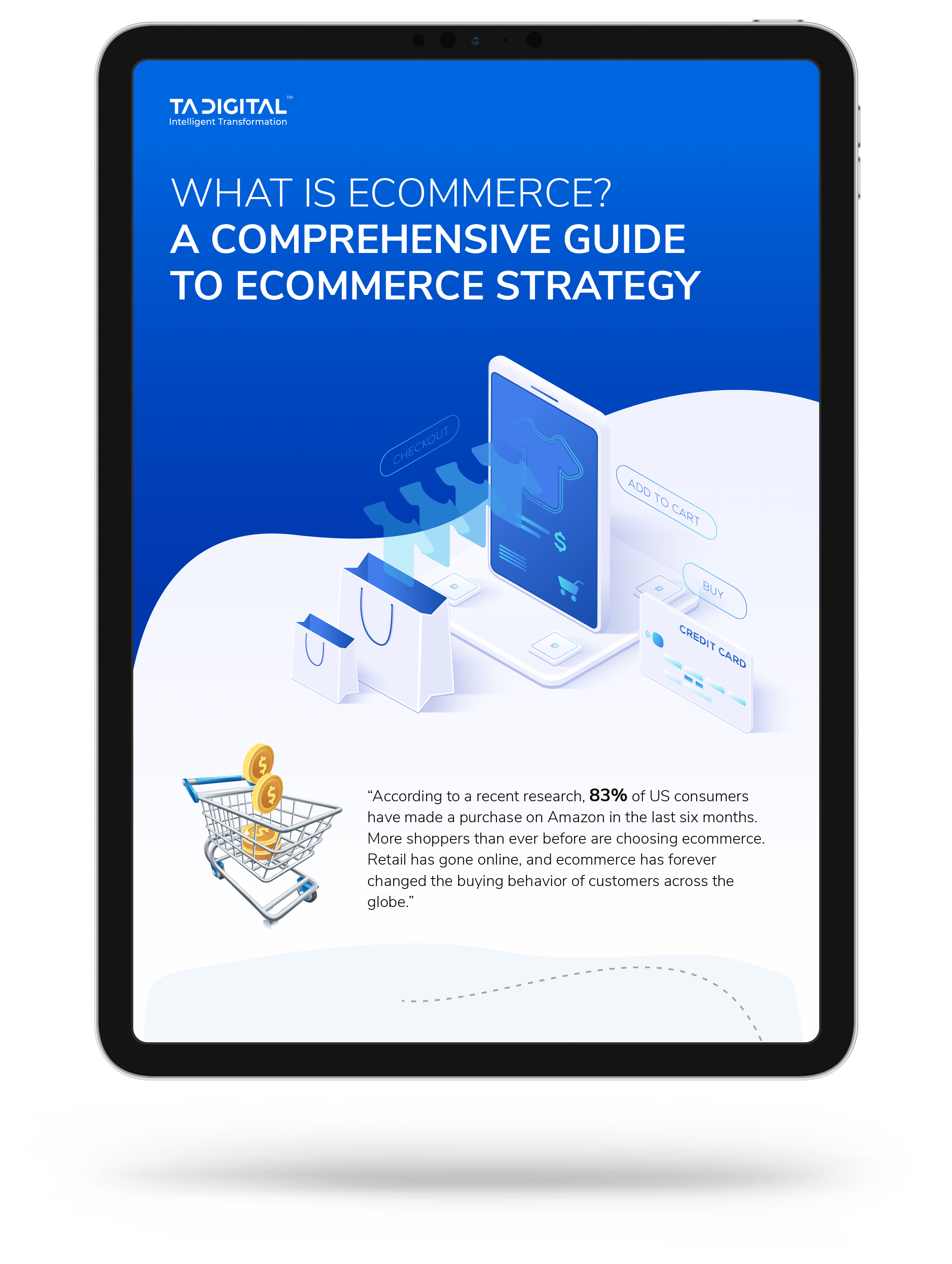 What Is Ecommerce? a Comprehensive Guide to Ecommerce Strategy Infographic