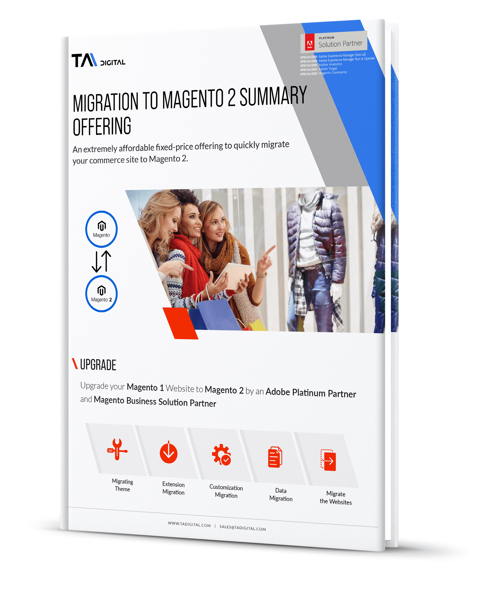 Migration to Magento 2 Offering new Ebook