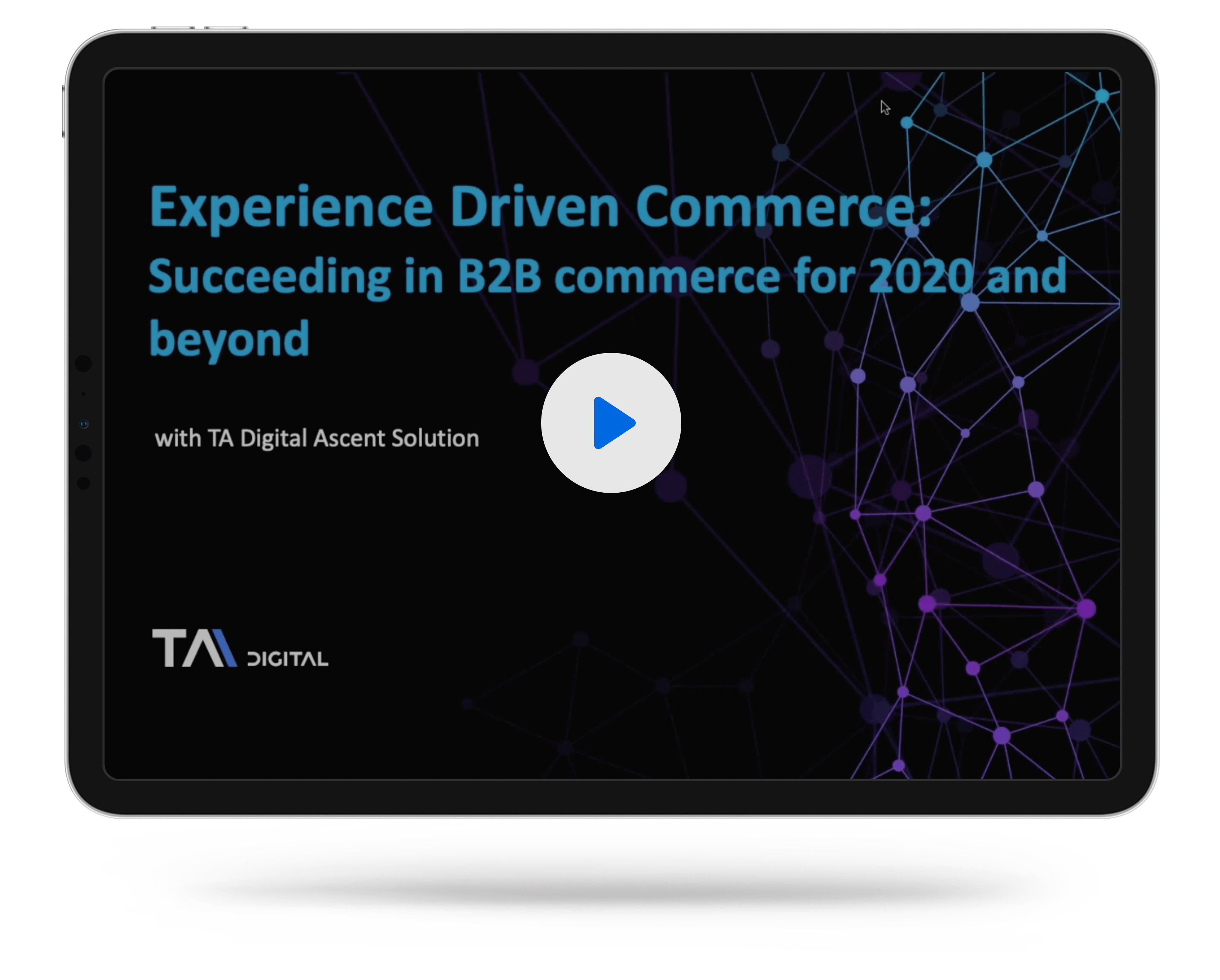 Experience Driven Commerce: Succeeding in B2B commerce for 2020 and beyond